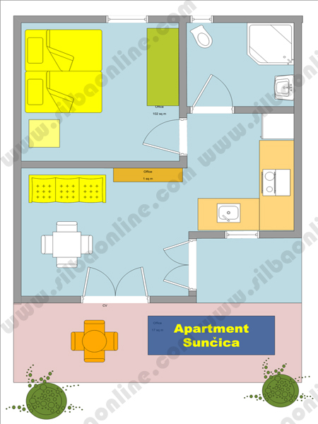 Apartment Suncica